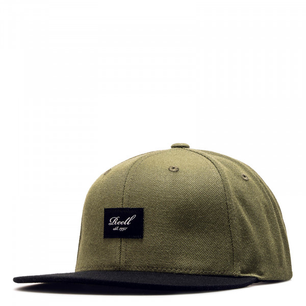 Reell Cap Pitchout Olive Black