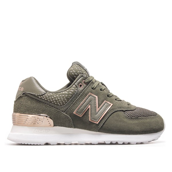 new balance oliv damen
