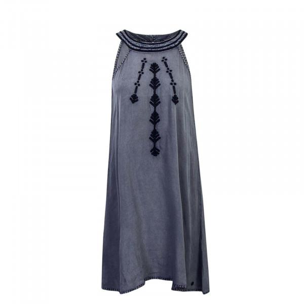 Khujo Wmn Dress Malaina Blue