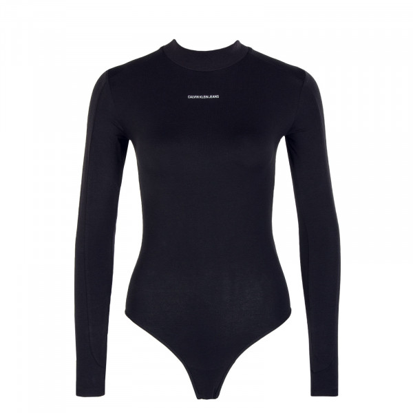 Damen Body - Micro Branding - Black