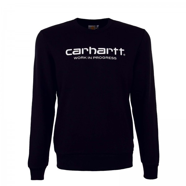 Carhartt Sweat Wip Script Black White