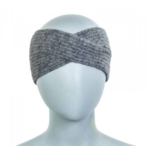 Damen Stirnband Hellen Alpaca Medium Grey Melange