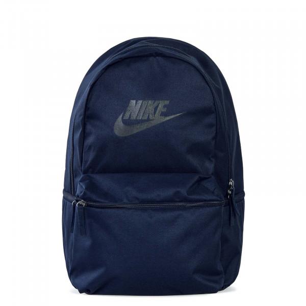 Nike Backpack Heritage Navy Black