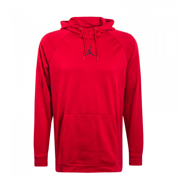 Herren Hoody Therma FLC Red Black
