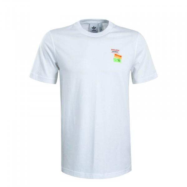Herren T-Shirt Bodega Pricetag White