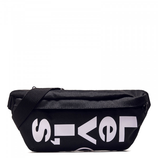 Hip Bag Banana Sling Black White
