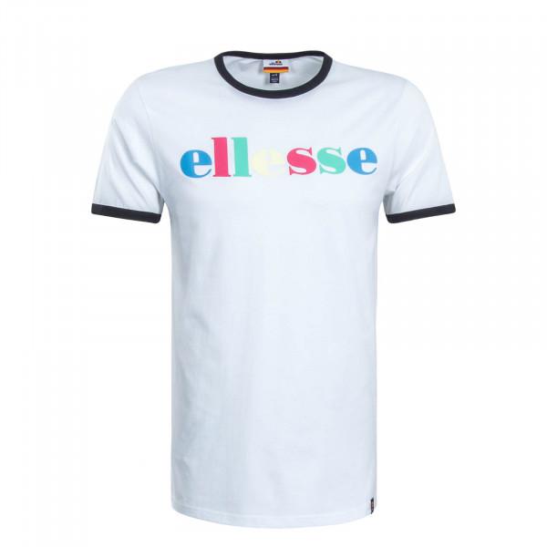 Herren T-Shirt Moa White Black Multi