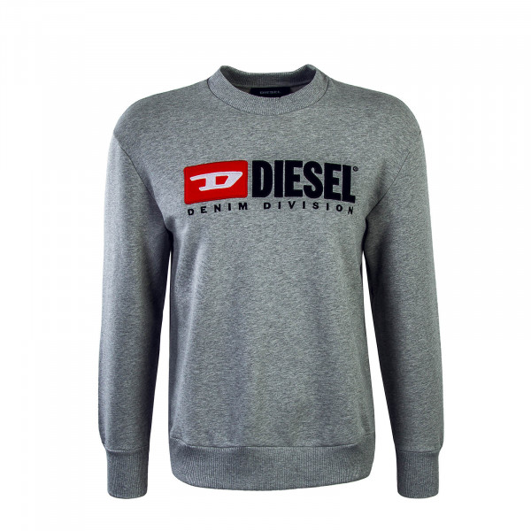 Diesel Sweat Crew Division Grey