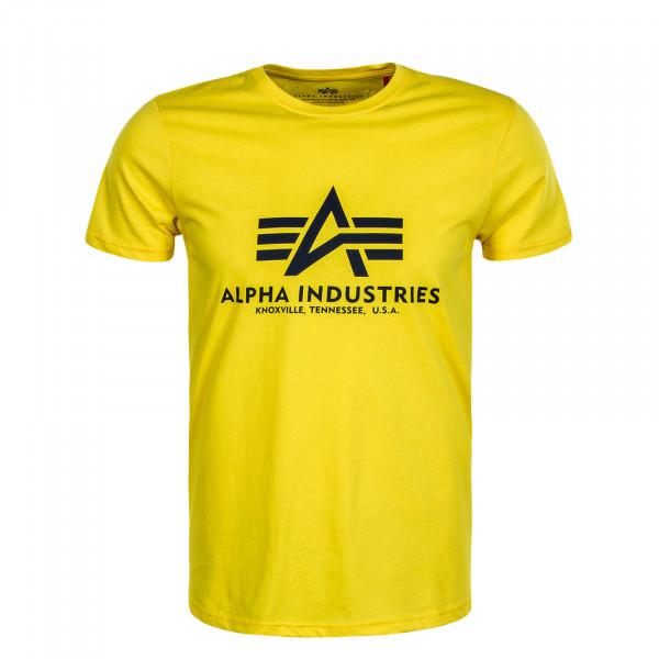 Herren T-Shirt Basic Empire Yellow