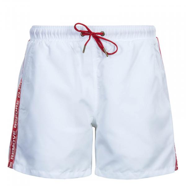 Herren Swim Short RBF Tape White