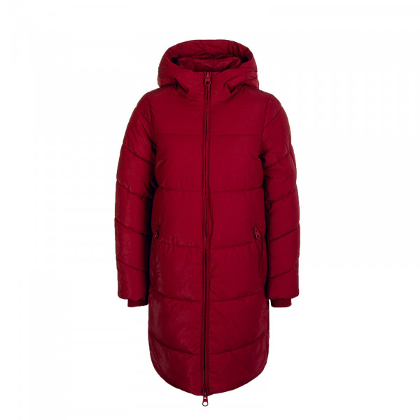 Damen Mantel Sienna Long Puffer Coat Rhubarb