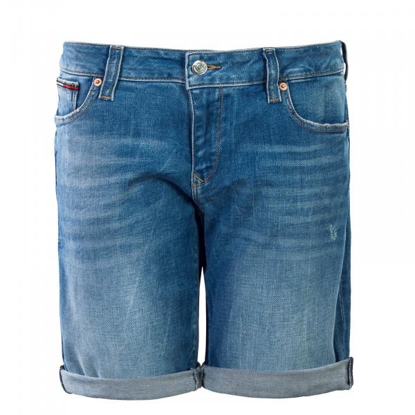 Damen Short Classic Longer Miami Blue