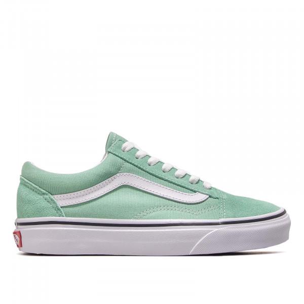 Damen Sneaker Old Skool Green White