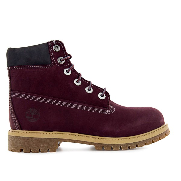 Timberland Wmn Boot 6IN PREM Bordo