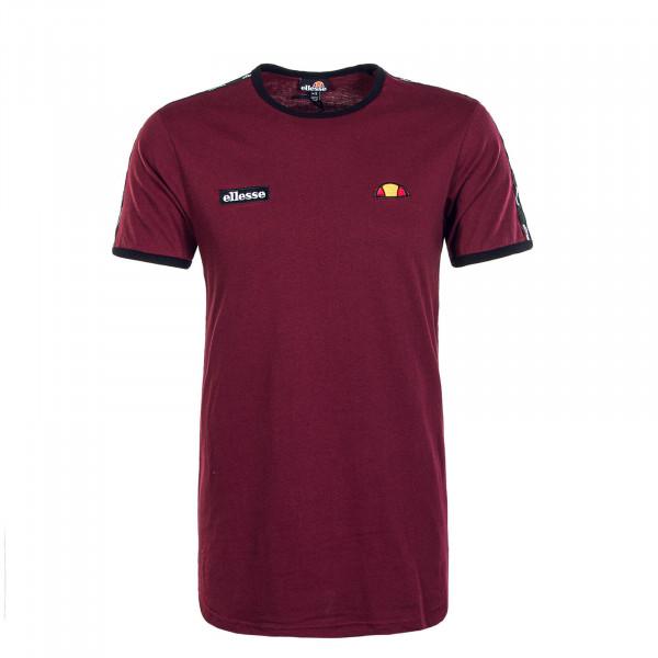 Herren T-Shirt Fedora Burgundy
