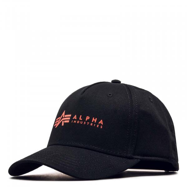 Cap Black Red