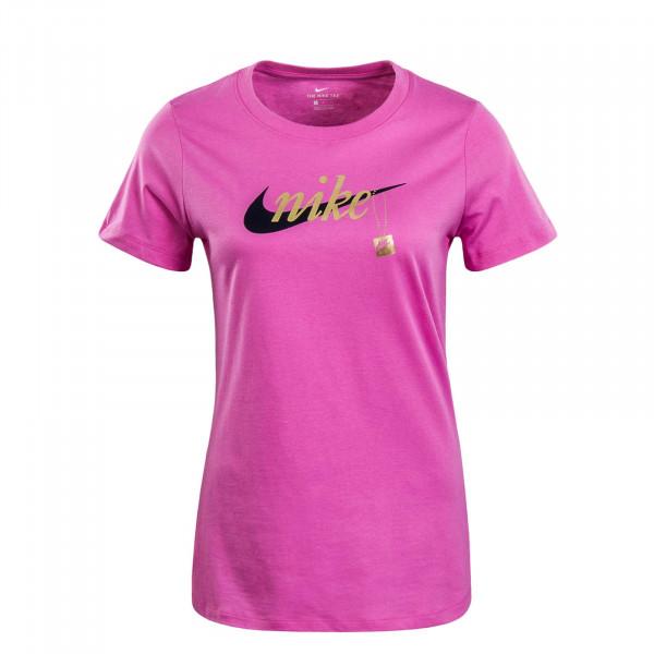 Damen T-Shirt Sport Charm Pink