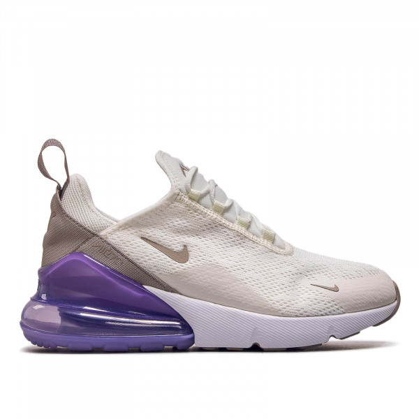 Damen Sneaker Air Max 270 Off White Brown Purple