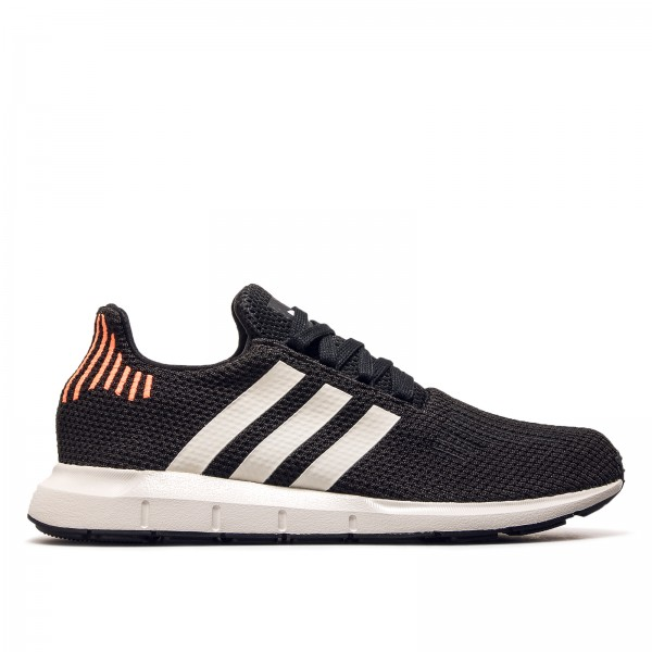 Adidas Swift Run Black Grey Neo