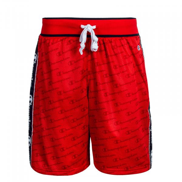 Herren Short Bermuda Red Navy