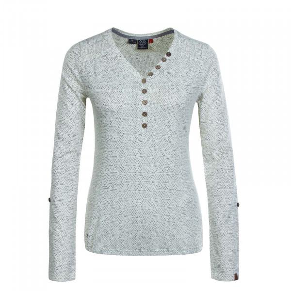 Damen Longsleeve - 25005 - White