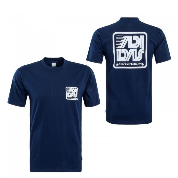 Herren T-Shirt Yanc 7350 Navy White