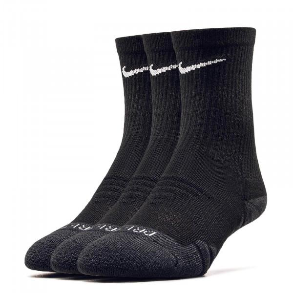 Nike Socks 3Pk Evry Max Cush Black