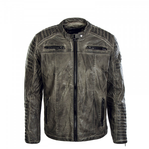 Herren Jacke Pu 6013  Dirty Grey