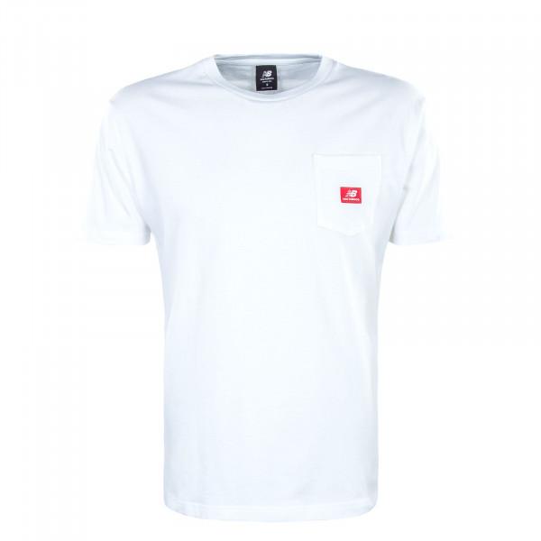 Herren T-Shirt MT01567 White