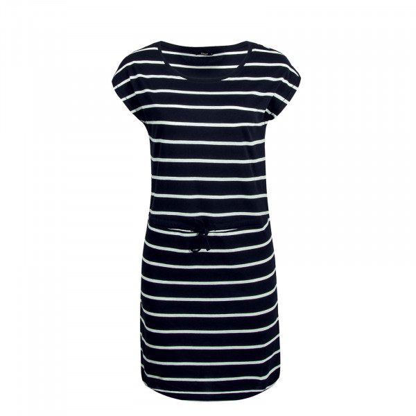 Dress May Navy Beige Stripe