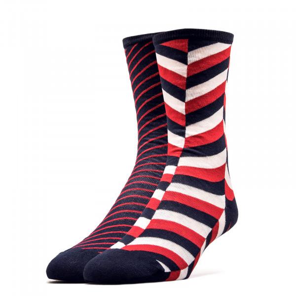 Damen Socken 2er-Pack Navy Red Herring