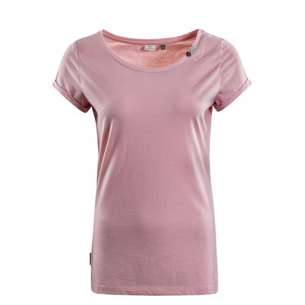 Damen T-Shirt Florah A Organic Rose
