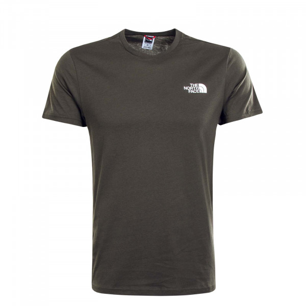 Herren T-Shirt Simple Dome New Taupe Green
