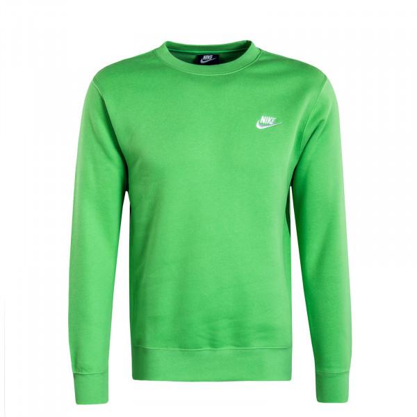 Herren Sweatshirt Club NSW Green White
