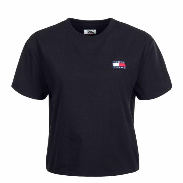 Damen T-Shirt Badge Tee 6813 Black