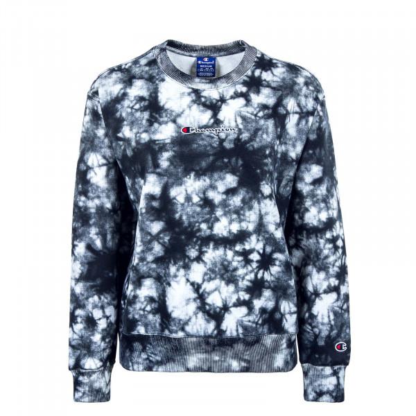 Damen Sweatshirt - Crewneck 113935 - White / All / Black