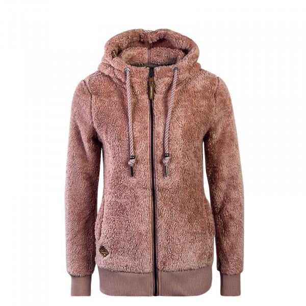 Damen Fleecejacke Vilma B Old Pink