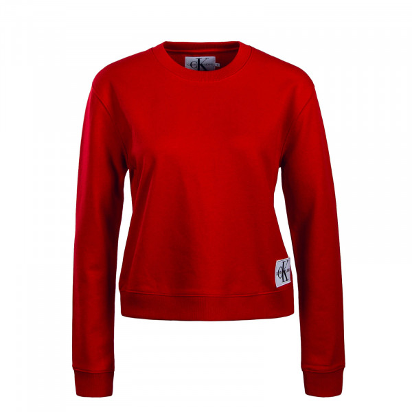 Damen Sweatshirt Boxy CN Monogram Red