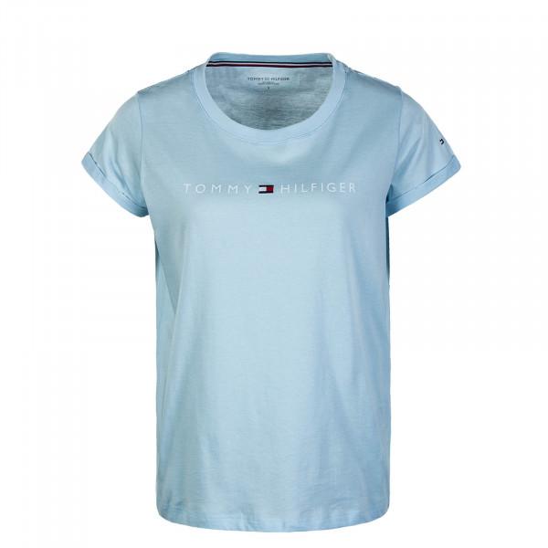 Dame T-Shirt RN 1618 Logo Keepsake Blue