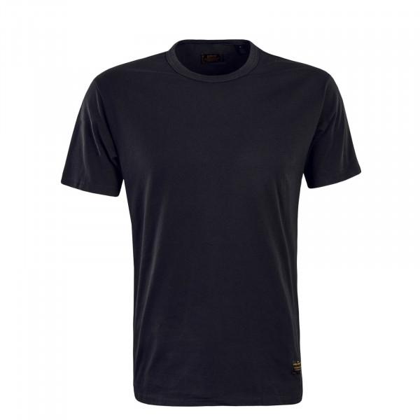 Herren T-Shirt 2 Pack 19452 Check Black