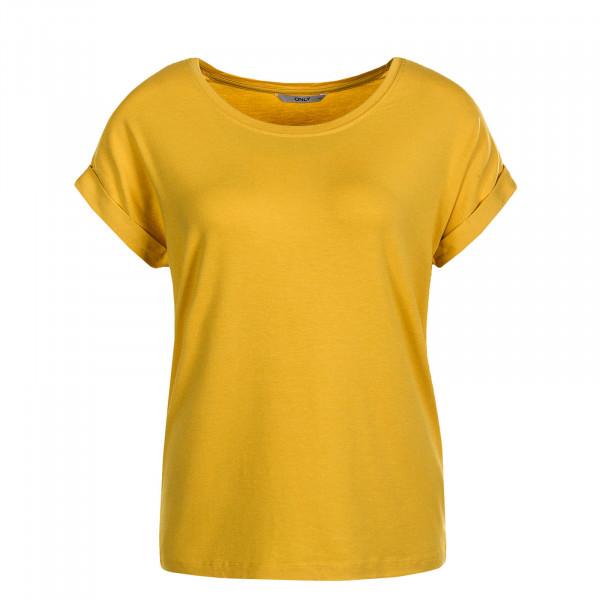 Damen T-Shirt Moster Yolk Yellow