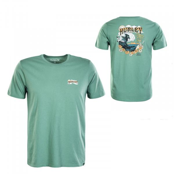 Herren T-Shirt - Flower Tubing - Green