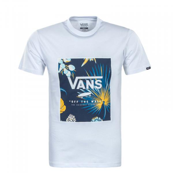 Herren T-Shirt - Classic Print Box Califas - White