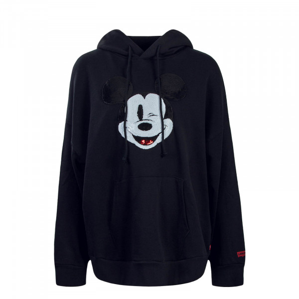 Damen Hoody Graphic OversMickey Blac