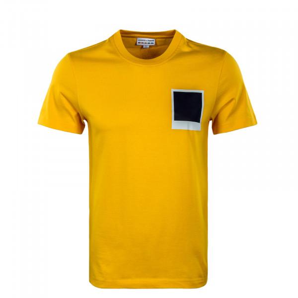 Herren T-Shirt - Lacoste x Polaroid - Gypse