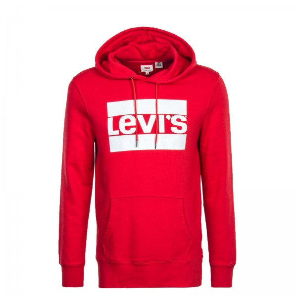 Levis Hoody Graphic Red White