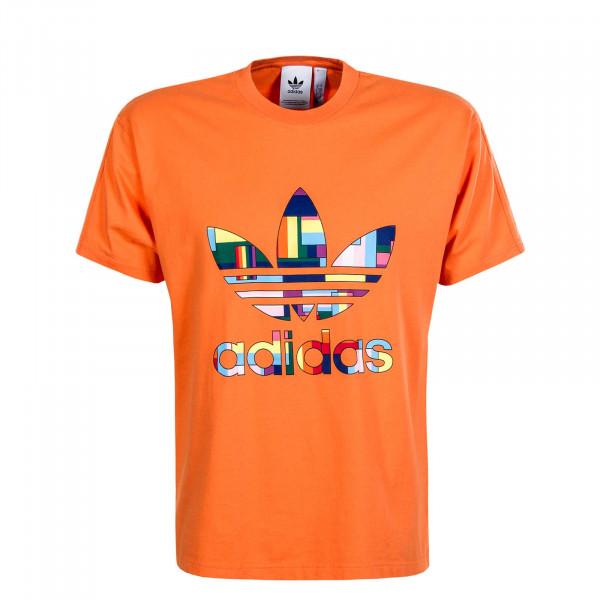 Herren T-Shirt Flag Fill Orange