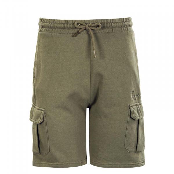 Herren Cargo Shorts - Small Signature Washed - Green