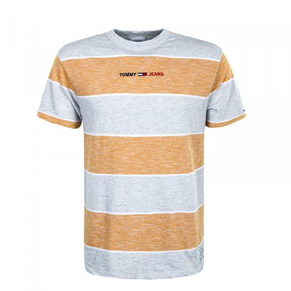 Herren T-Shirt . Stripe Linear - Florida / Orange / Multi