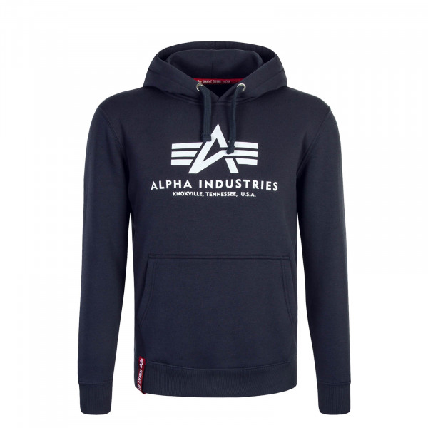 Alpha Hoody Basic Navy